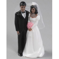 Dark Skin Bridal Couple