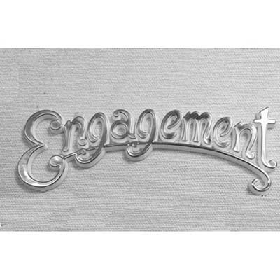 Silver Engagement Scroll