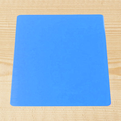 "Blue Acrylic 8"" Square Board"