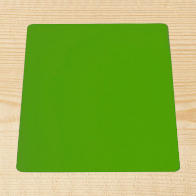 "Green Acrylic 8"" Square Board"