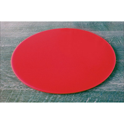 "Red Acrylic 6"" Round Board"
