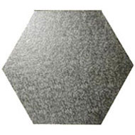Hexagonal Silver Board 6mm