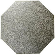Octagonal Silver  6mm Board