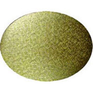 Oval Gold 6mm Cake Board