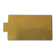 60x110mm Gold Rectangle Tab CB