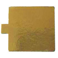 90mm Gold Square Tabbed Board