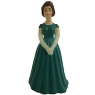 Bridesmaid  7cm. Green