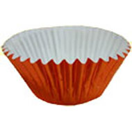 Orange Metallic #408 Cake Cups
