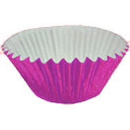 Hot Pink Metallic #550 Cake Cups