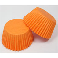 Orange #408 Cake Cups Papers