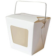 Single Cupcake Box Windowed