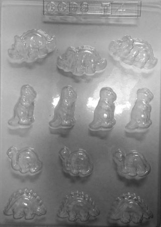 Dinosaur Chocolate Mould Small
