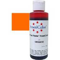 Orange 4.5oz Americolor Paste Colour