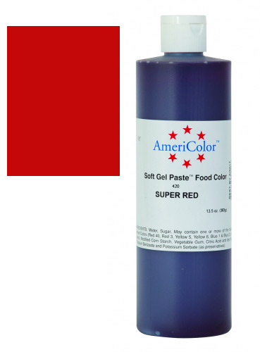 Super Red Americolor 13.5 Oz