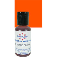 Electric Orange Airbrush Colour
