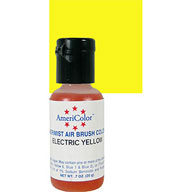 Electric Yellow Airbrush Colour