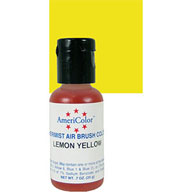 Lemon Yellow Airbrush Colour
