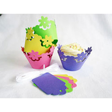 Tropical Cupcake Wraps