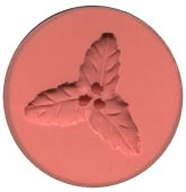Three Leaf Holly Silicone Mould