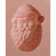 Santa Face Silicone Mould