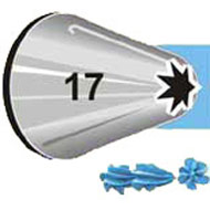 #17 Star Piping Tip