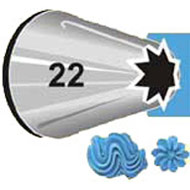 #22 Star Piping Tip