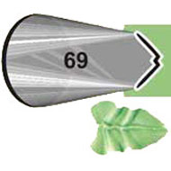 #69 Leaf Piping Tip