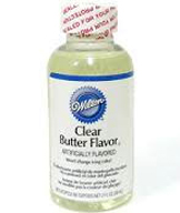 Clear Butter Flavour - Wilton