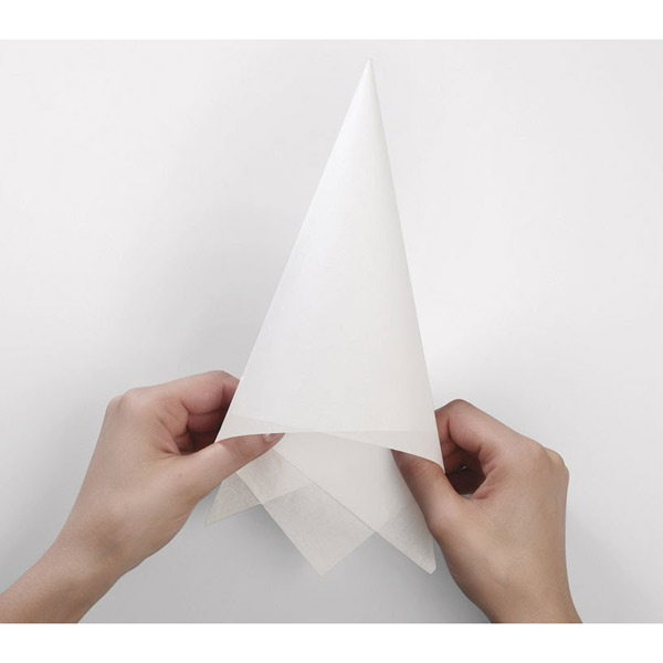 Bulk Parchment Paper Triangles