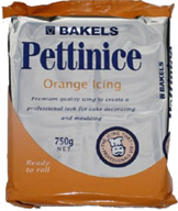 Bakels Orange 750gr Icing