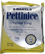 Bakels Yellow 750gr Icing