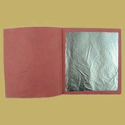25 x Silver Leaf Transfer Sheets
