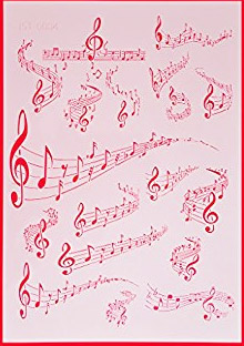 Musical Notes Stencil