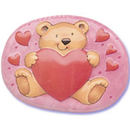 Bear Love Heart Poptop
