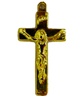 Small Gold Crucifix