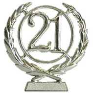 #21 Silver Wreath Number