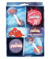 Cupcake Decorating Kit-Spiderman Ultimate