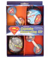 Cupcake Decorating Kit - Superman