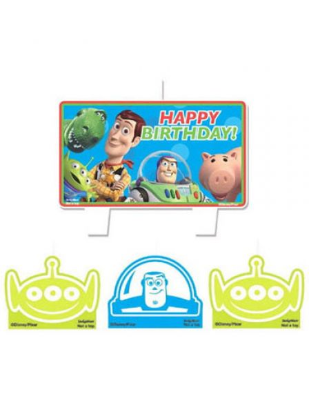 Toy Story Candle Set