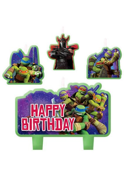 Candle Set Teenage Mutant Ninja Turtles