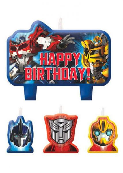 Candle Set Transformer Birthday