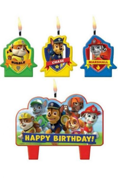 Candle Set - Paw Patrol