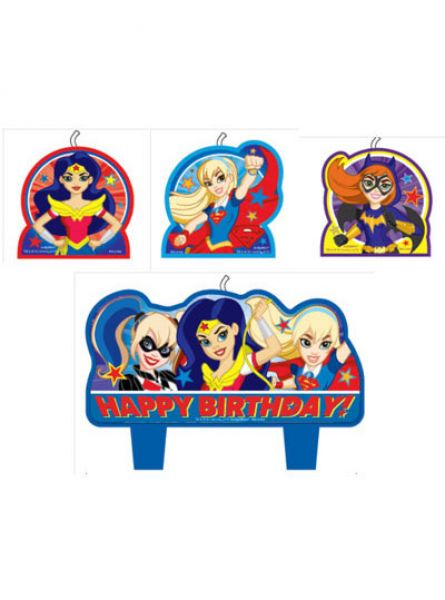 Super Hero Girls Candle Set