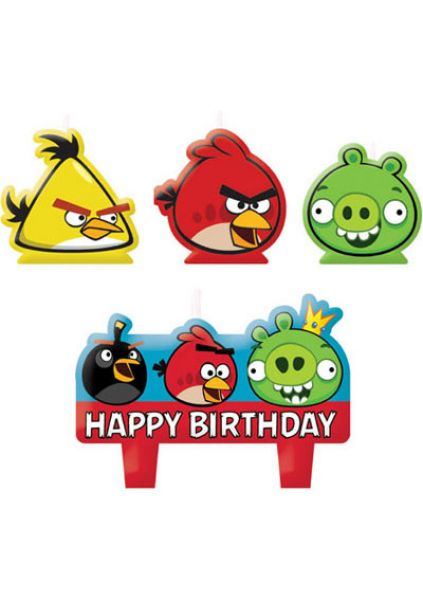 Candle Set - Angry Birds