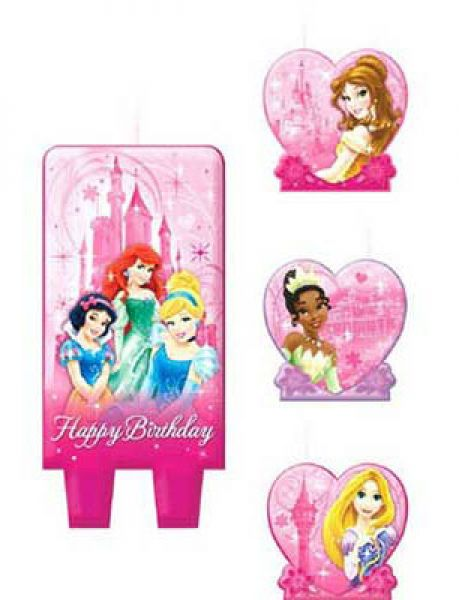Candle Set Sparkling Princess