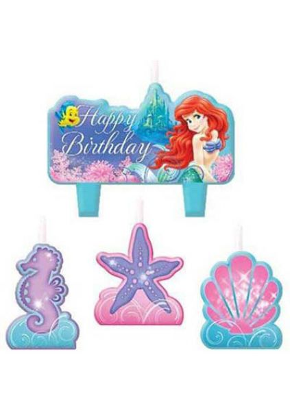 Candle Set - Ariel Little Mermaid