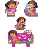 Candle Set Dora the Explorer