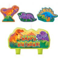 Candle Set Dinosaurs
