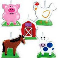 Cake Candles  Barnyard Fun