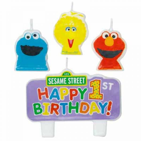 Candle - Sesame St 1st